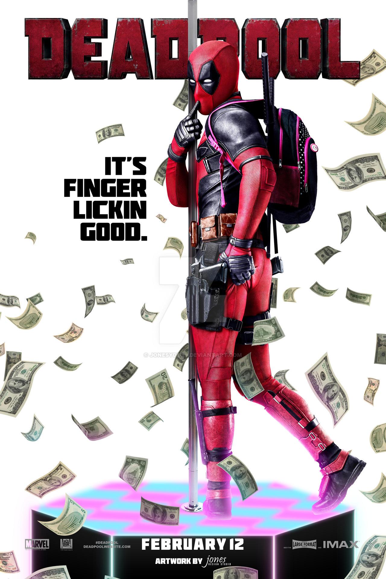 Deadpool Poster by jonesyd1129 on DeviantArt