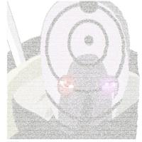 Avatar ASCII Tobi Uchiha by gamazor