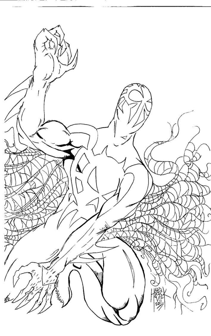 Spiderman 2099 2 by HARDRICKART on DeviantArt