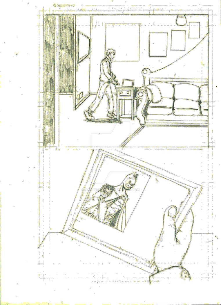Tim Drake sample art by HARDRICKART