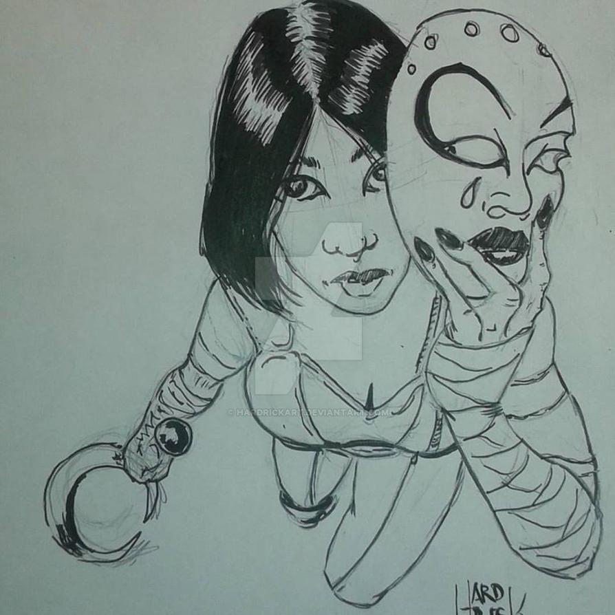 David Mack Kabuki skecth by HARDRICKART
