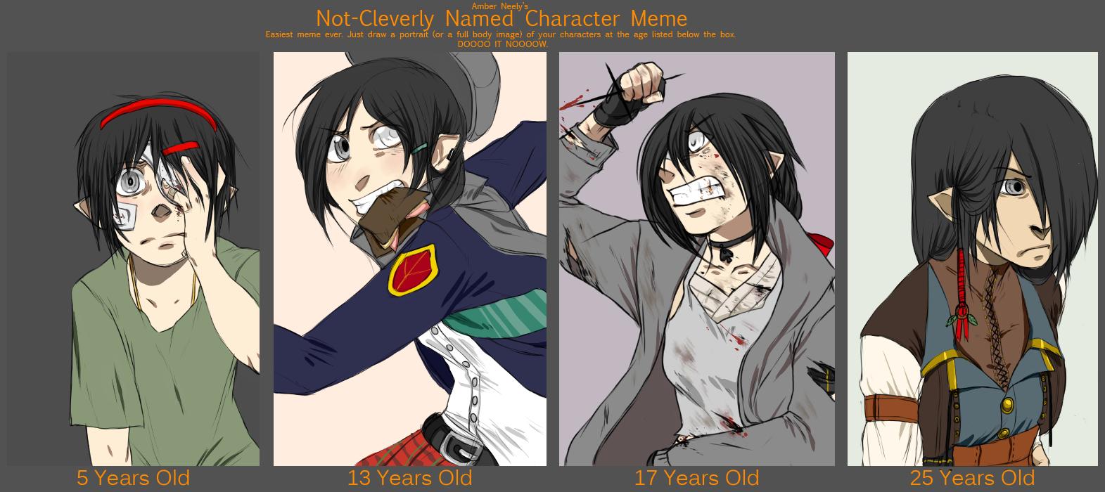 Anime Characters Age : Zan age meme by soojinp on deviantart