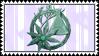 Stamp Absynthe Garde by Riiriimush