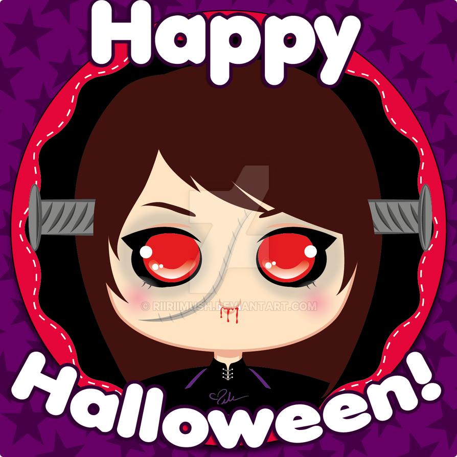 Lirin in Halloween by Riiriimush