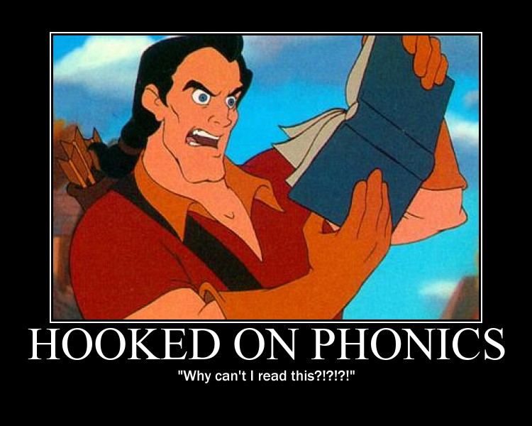 Gaston_Reads_Hooked_On_Phonics_by_LivingShadowDarkMark hooked on phonices car wash voucher,Hooked On Phonics Meme