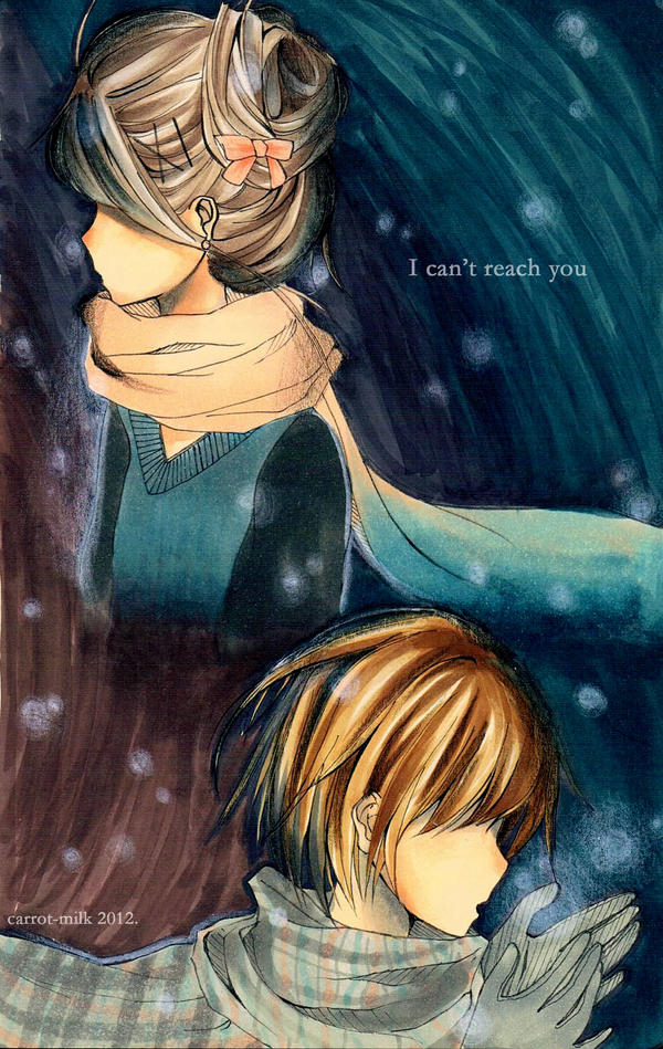 Cannot reach you by carrot-milk