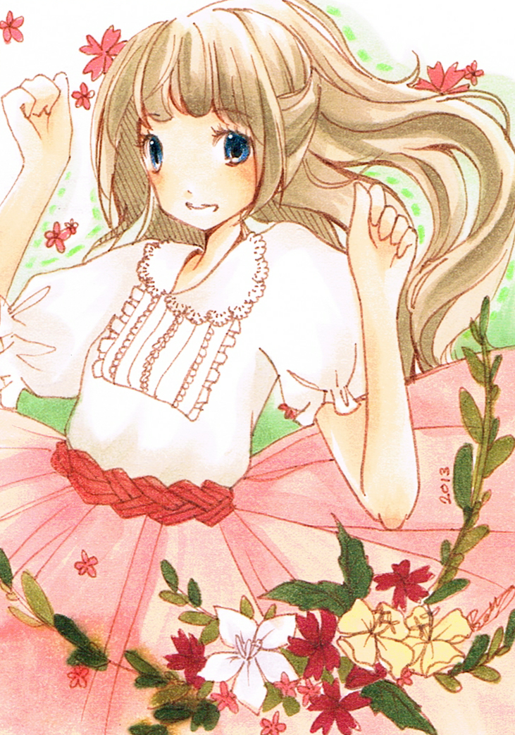 ACEO flowers by carrot-milk