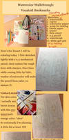 Watercolor Walkthrough: Vocaloid Bookmarks