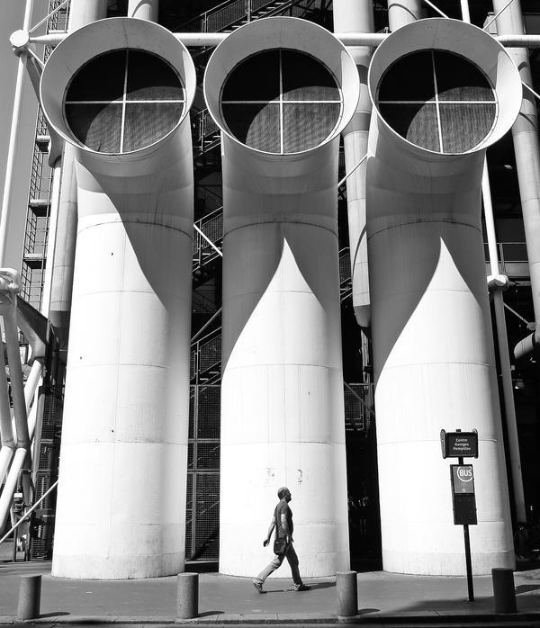Paris. Centre Georges Pompidou by GioGrana