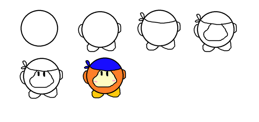waddle dee coloring pages - photo #21