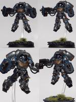 Astral Knights Primaris Inceptor by TheEternalRanger