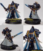 Astral Knights Primaris Librarian Valqash by TheEternalRanger
