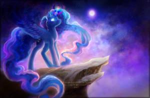 Luna (+speedpaint) by ElzaFox