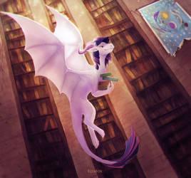 Twilight dragon by ElzaFox