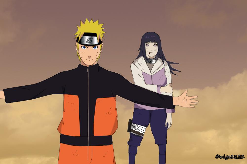 (IC) The Life of a Shinobi (Chapter 6: The Seven Tails Jinchuriki and the Yigonists) - Page 3 Naruto_protecting_hinata_by_ziga1221-d5bo39w
