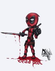 Deadpool by Hyskoarts