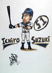 Ichiro by Hyskoarts