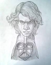 Anakin by Hyskoarts