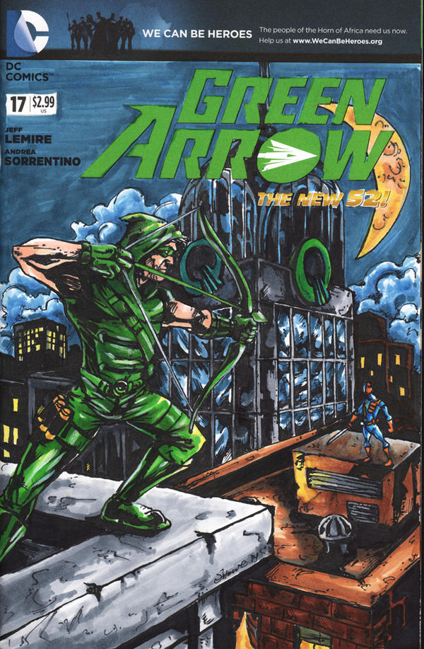 Green Arrow by showe