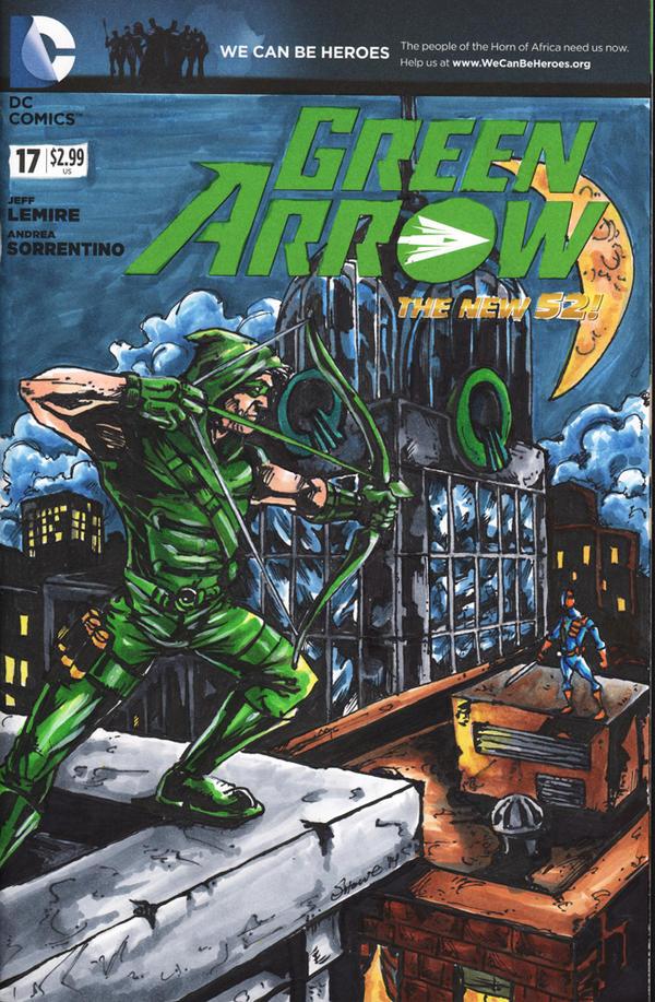 Green Arrow by showe