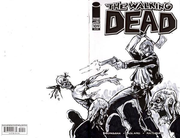 Walking Dead by showe