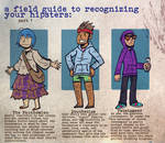 HIPSTER FIELD GUIDE pt. 1