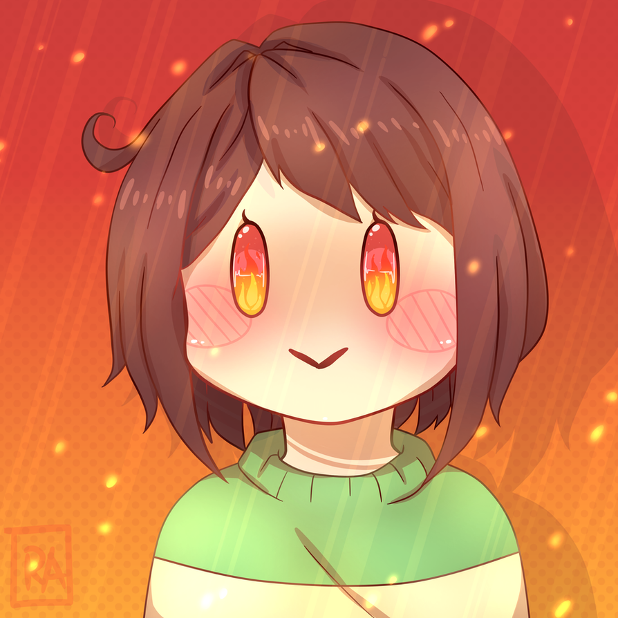 Chara Genocide Icon by RachelArabelle