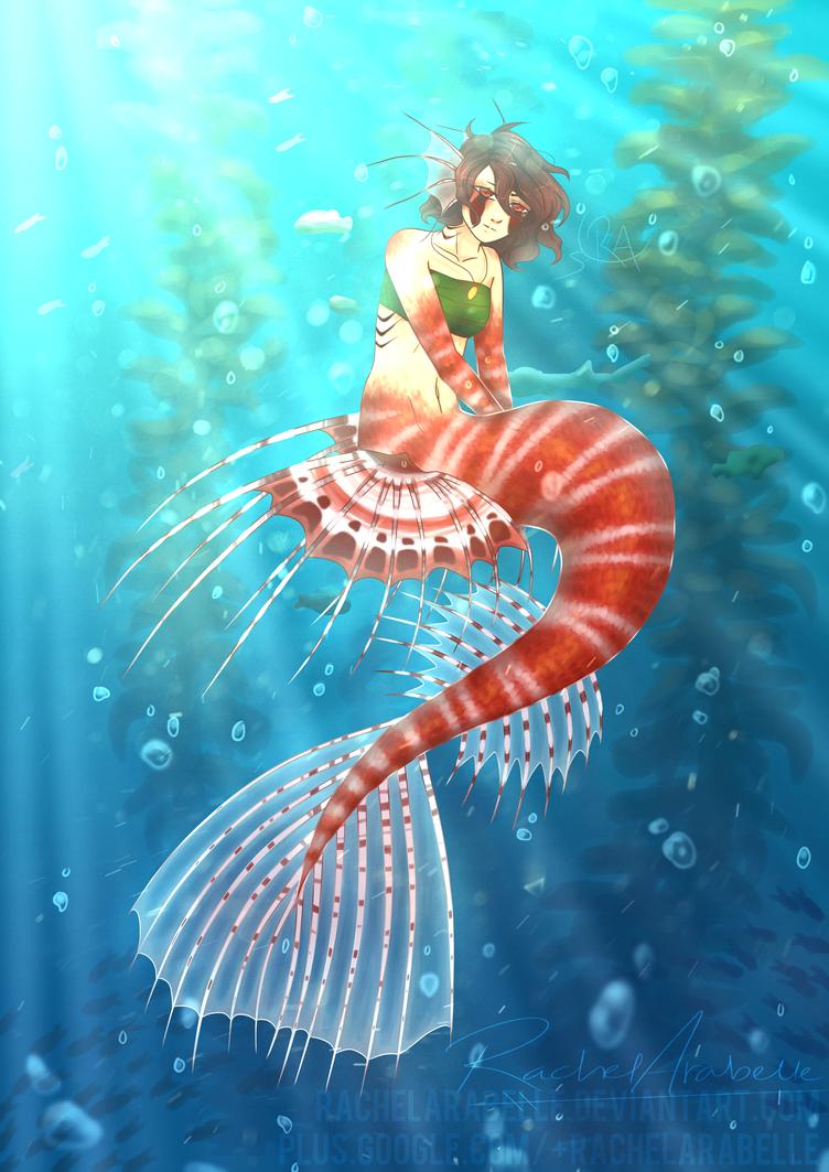 Poison Depths | Concept Art by RachelArabelle