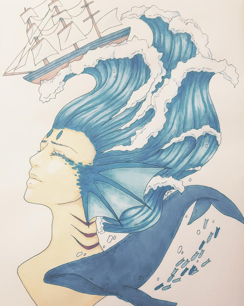 Deepsea Diving by RachelArabelle