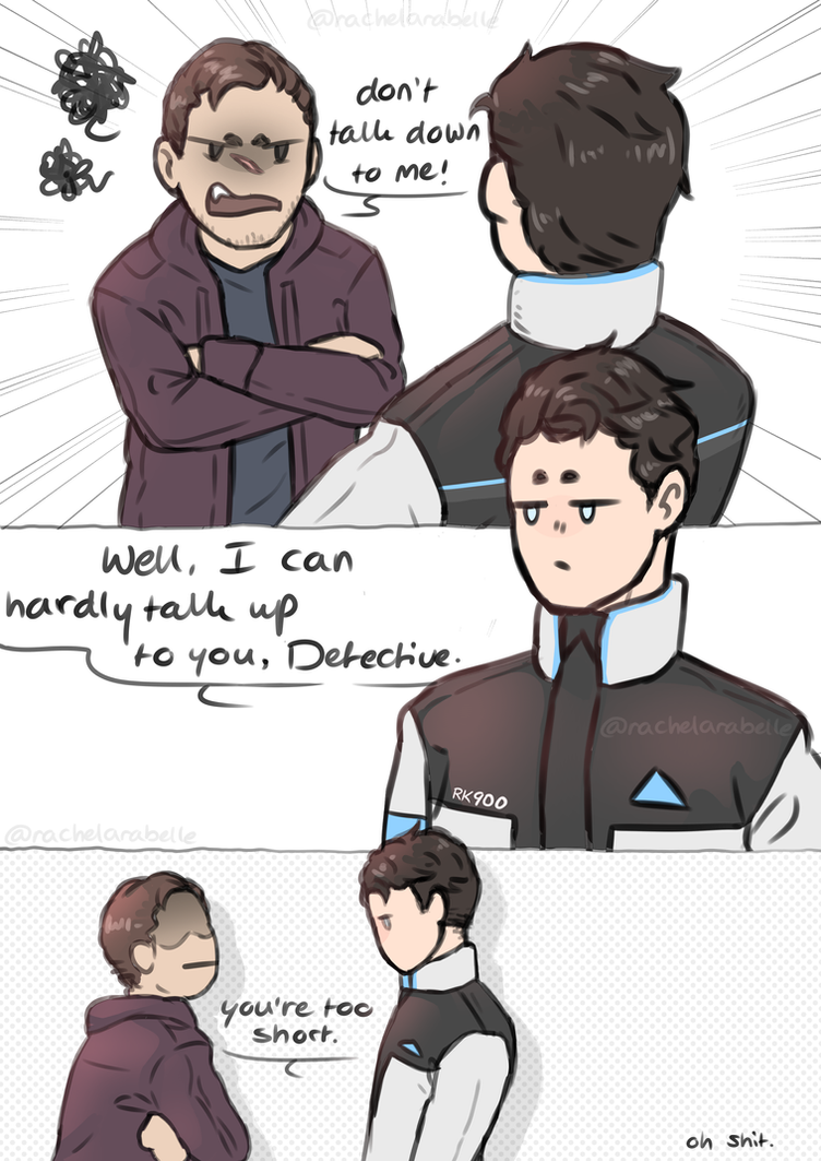 Reed Is Too Short | Detroit: Become Human by RachelArabelle