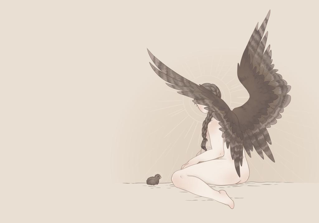 Winged Solitude by RachelArabelle