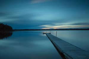 In the blue hour by roisabborrar