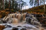 Long exposure at the waterfall