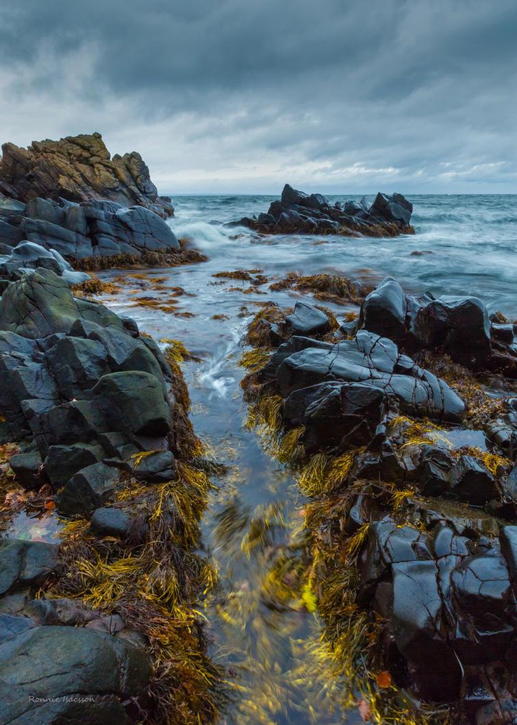 Among the cliffs by roisabborrar