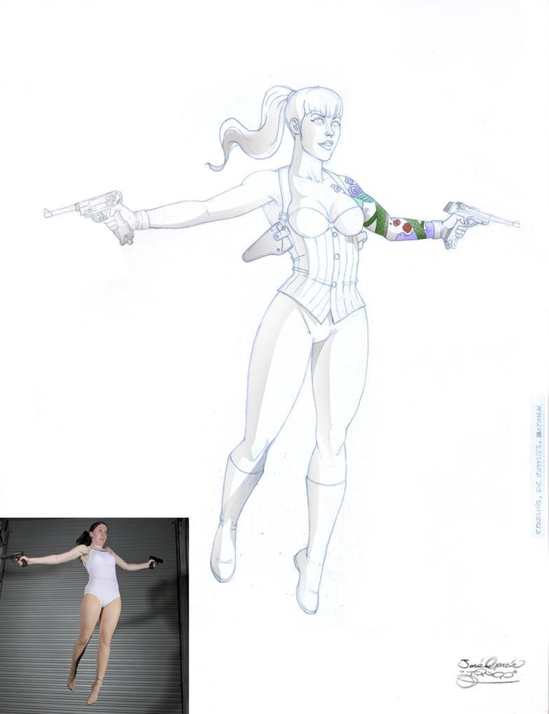 Starling DC comics by tingocomics