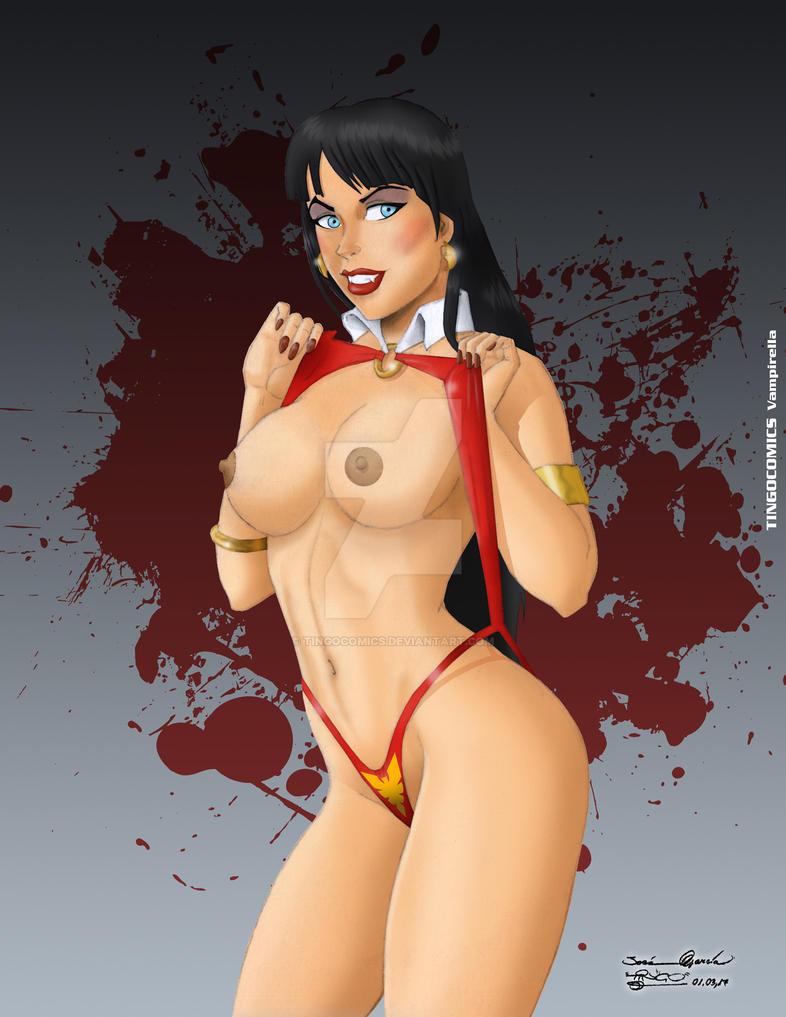 Vampirella by tingocomics