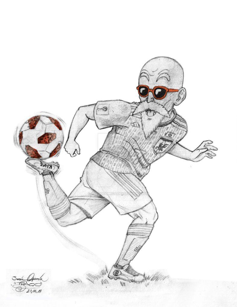 Roshi world cup by tingocomics