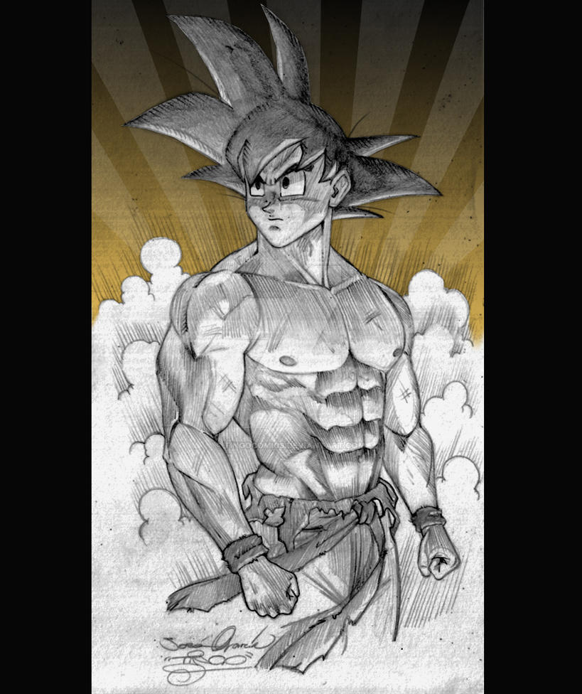 Goku by tingocomics