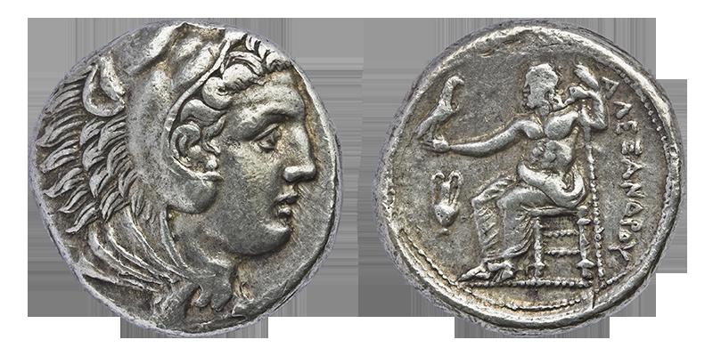 Alexander III Tetradrachm by Solrac1993