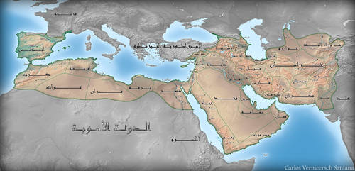 The Umayyad Caliphate under Al-Walid I by Solrac1993