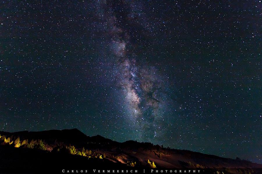 Sagittarius Arm of the Milky Way over the Birigoyo by Solrac1993
