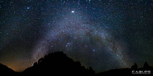Milky Way Galaxy Panorama