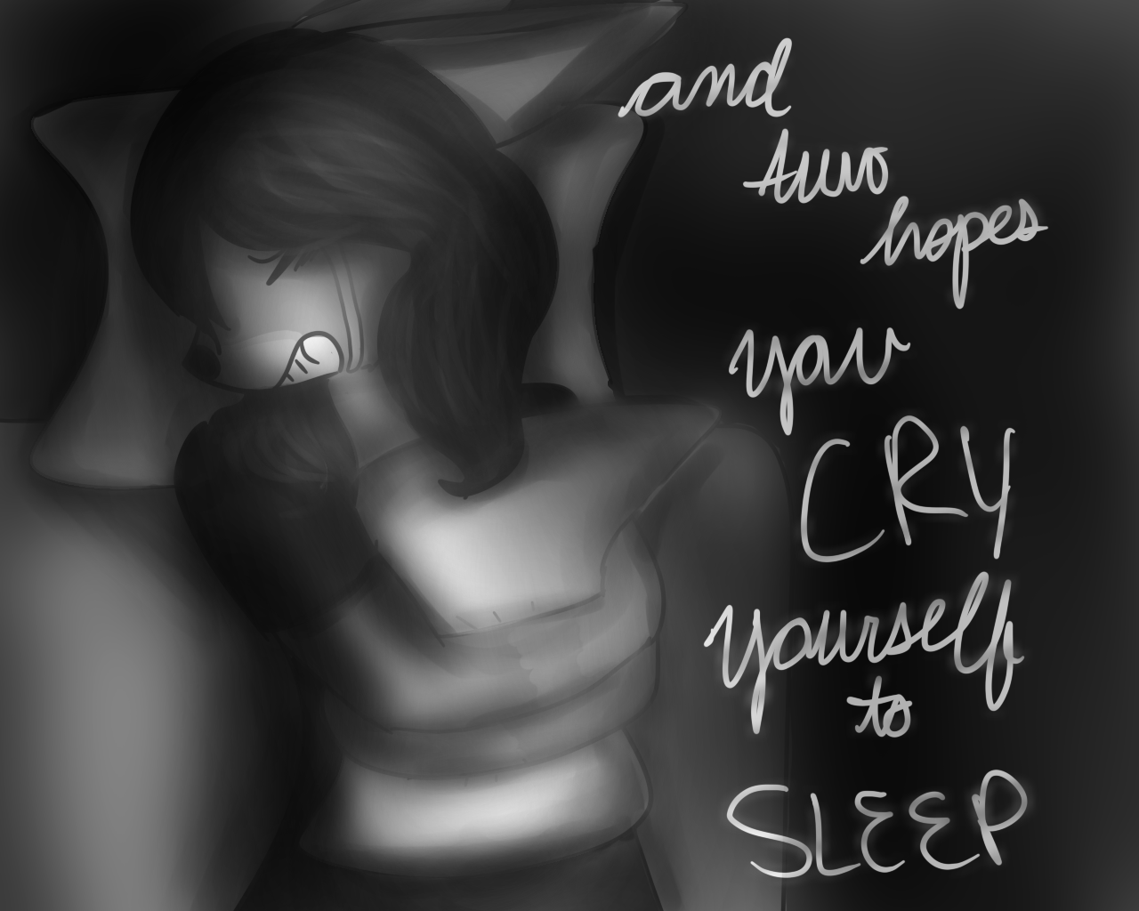 how to cry yourself to sleep wikihow
