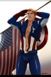 Captain America by felixavenier