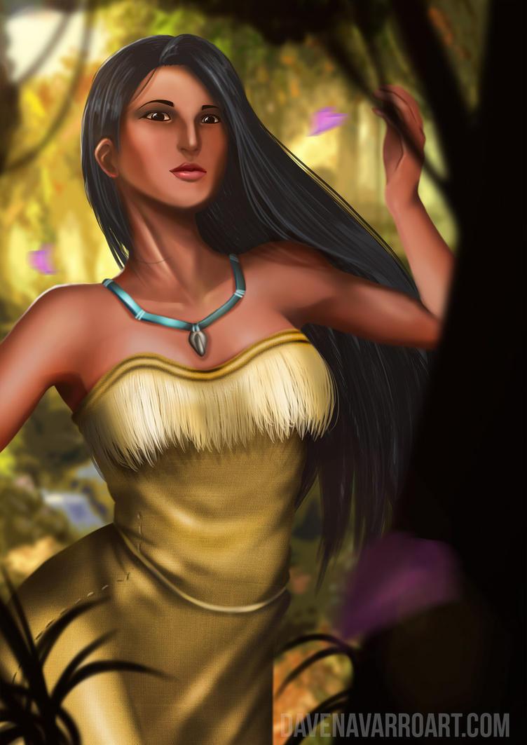 Pocahontas by Dave-Navarro