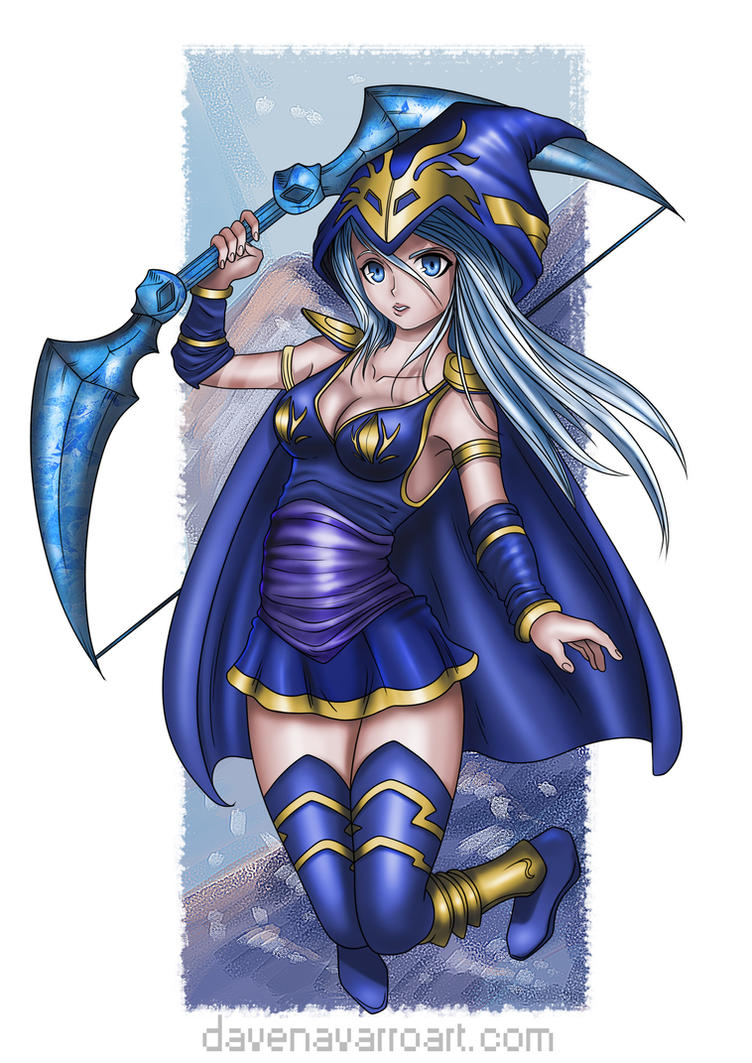 Ashe (League of Legends) by Dave-Navarro