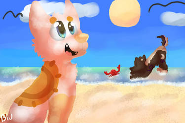 Beach day by peristeronic