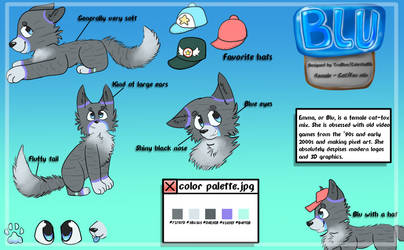 Blu reference sheet 2018 by peristeronic