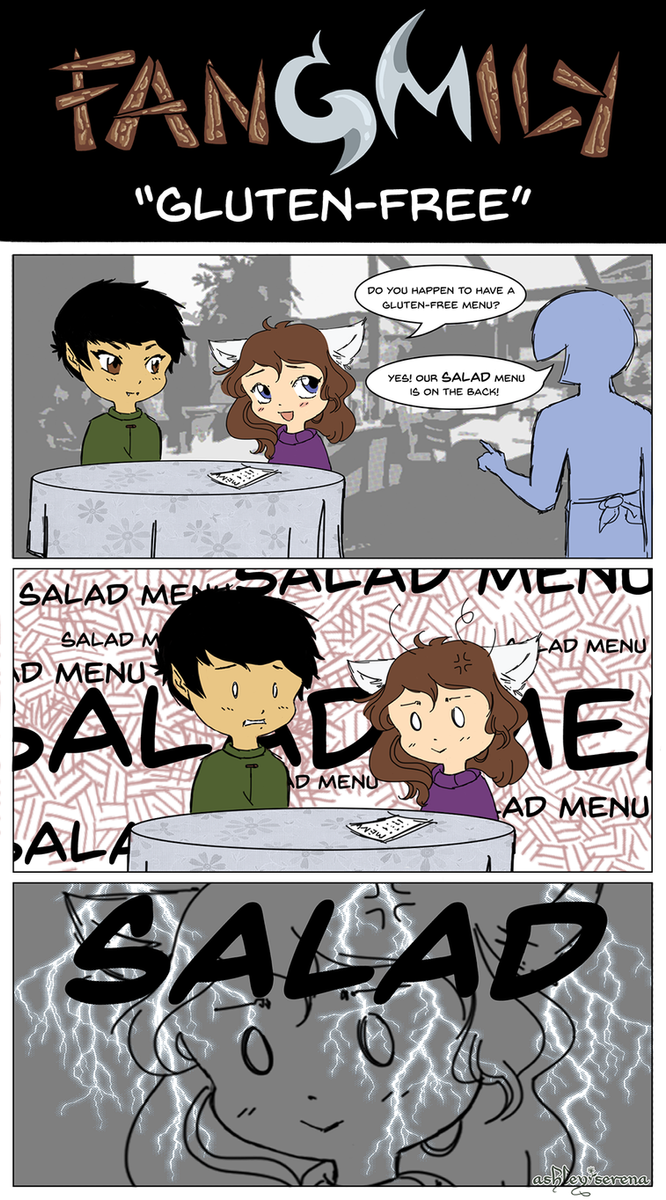 Fangmily: Gluten-Free by Pterux