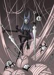Herrah the Beast- Girl. Hollow knight fanart